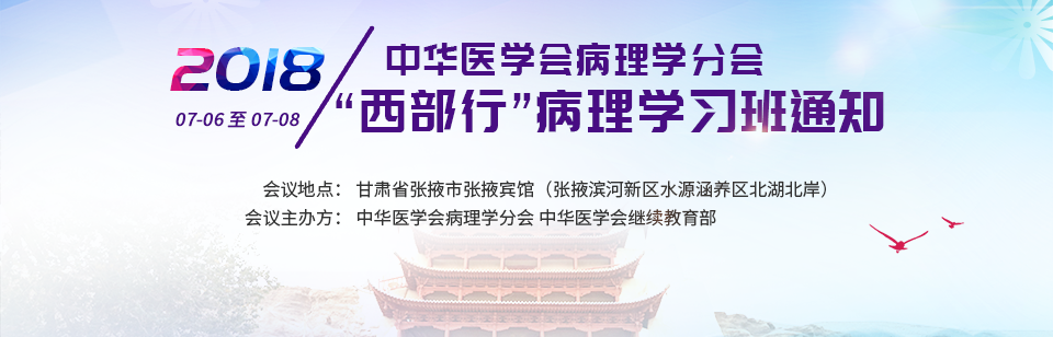 """中华医学会病理学分会2018年""""西部行""""病理学习班"""