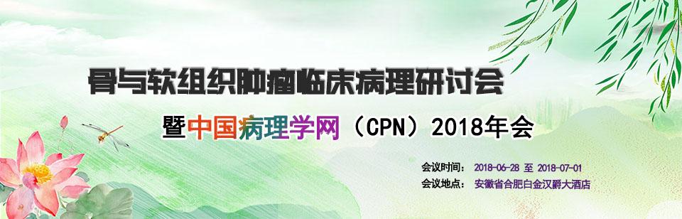 安徽省医师协会病理医师分会关于举办骨与软组织肿瘤临床病理研讨会暨中国病理学网(CPN)2018年会