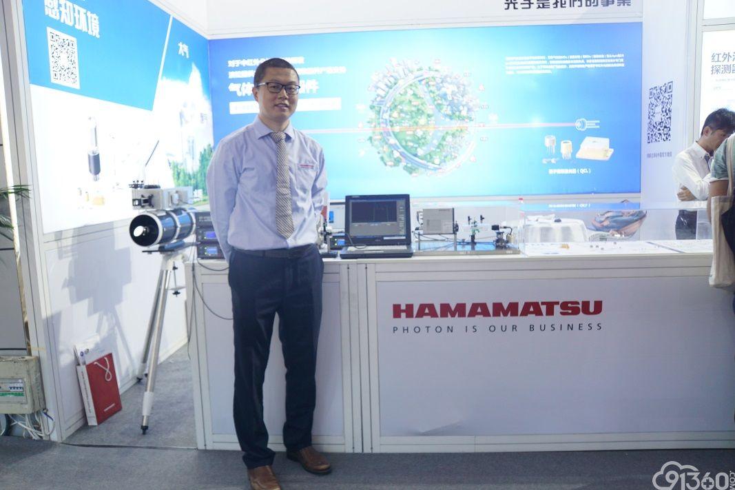 滨松量子级联激光器在大气遥感测量中的应用
