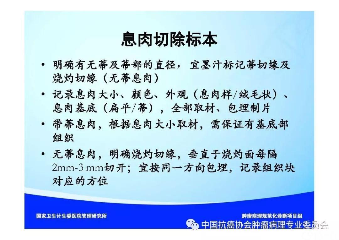 肿瘤病理诊断规范 第9部分:结直肠癌病理诊断规范