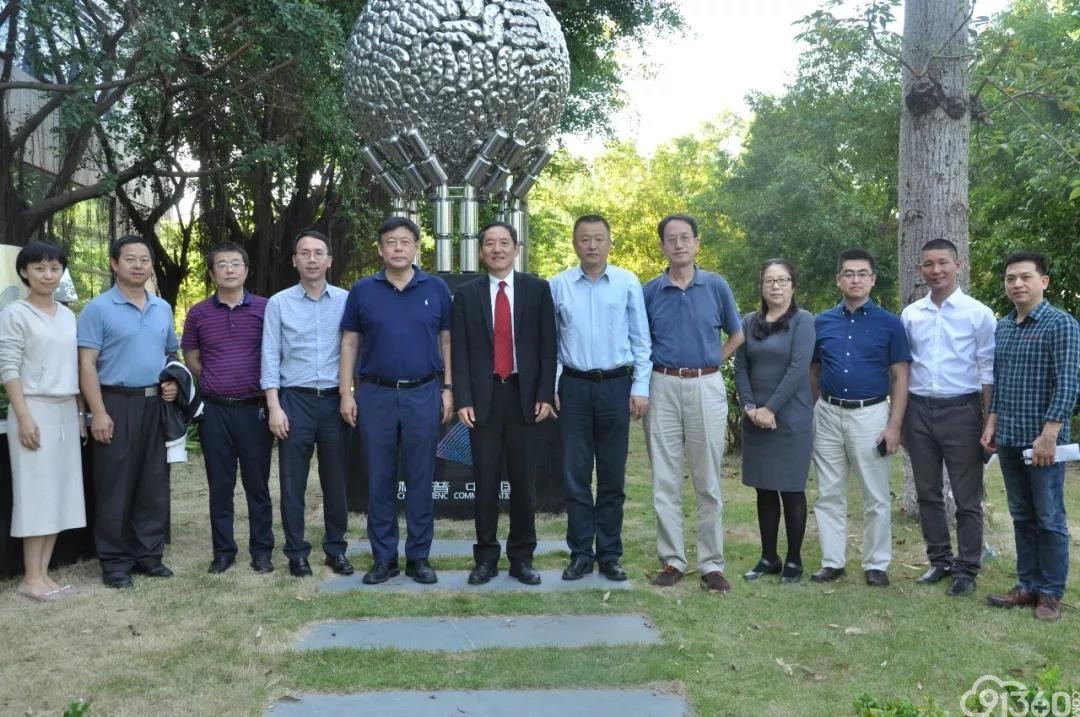 美国杜克大学病理系主任黄教悌教授一行来深圳市第三人民医院交流指导