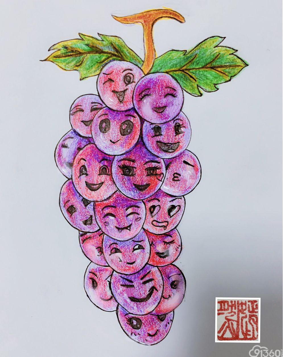 手绘病理世界—《笑脸》