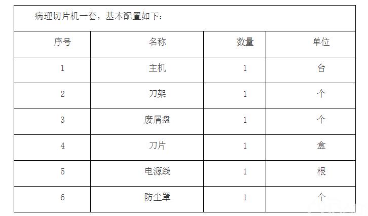 公安县人民医院购置病理切片机项目询价采购公告